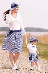 Sukne - Dámska sukňa navy - 8177458_