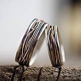 Prstene - Prepletené cesty osudu /prelínanie farieb/ - 8179600_