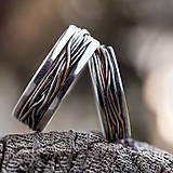 Prstene - Prepletené cesty osudu /prelínanie farieb/ - 8179601_