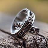 Prstene - Prepletené cesty osudu /prelínanie farieb/ - 8179602_