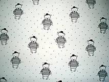 Textil - Úplet Teddy off-white - 8179787_