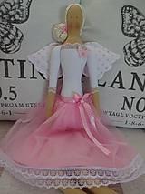 Bábiky - Anjelka v tylovej sukničke - 8181618_