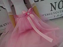 Bábiky - Anjelka v tylovej sukničke - 8181621_