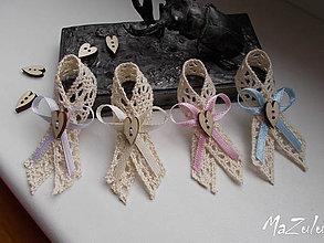 Pierka - vintage svadobné pierka - 8181221_