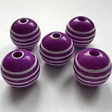 Korálky - Prúžky plast 14mm - 8182476_