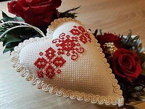 Dekorácie - Srdce viery - 8179425_