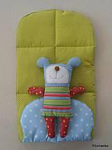 Textil - Podložka do kočíka BRITAX do vaničky/ korbičky B-AGILE / B-MOTION na mieru - 8182384_