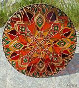 Dekorácie - Etno Mandala Cestovateľská-Dobrodružná - 8181661_
