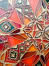 Dekorácie - Etno Mandala Cestovateľská-Dobrodružná - 8181664_