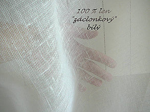Textil - NOVINKA 100% len