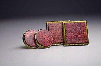 Šperky - Purple vintage set - 8180181_