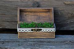 Krabičky - krabička na prstene - 8182197_