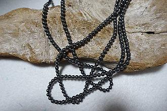 Minerály - Hematit čierny 4mm - 8180076_