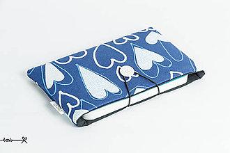 Papiernictvo - Obal na knihu XS - s láskou v modrom - 8182584_