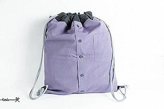 Batohy - Vak Košelák - fialový elegán - 8182723_