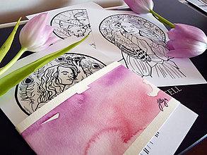 Kresby - Omaľovánky N&L - A4 - 8182033_