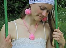 Sady šperkov - Pink súprava - 8181333_