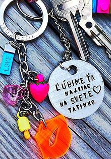 Kľúčenky - ĽÚBIME ŤA TATINKO - 8186618_