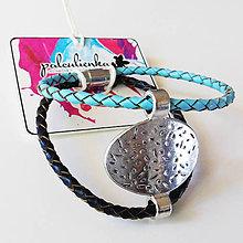 Náramky - náramok kožený - Tibet - 8183459_