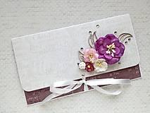 - Svadobná obálka na peniaze - 8185430_