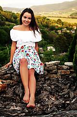 Sukne - FOLK suknička Pohodička - 8185466_
