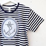 Oblečenie - PÁNSKE TRIČKO NÁMORNÍCKE - vel. S - XL - 8184148_