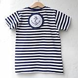 Detské oblečenie - KAPITÁNEM PRÁZDNINOVÉ LODI - vel. 122 - 8185093_
