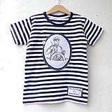 Detské oblečenie - KAPITÁNEM PRÁZDNINOVÉ LODI - vel. 122 - 8185094_