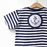 Detské oblečenie - KAPITÁNEM PRÁZDNINOVÉ LODI - vel. 122 - 8185096_