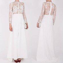 Šaty - Dlhé úpletové šaty - 8183597_
