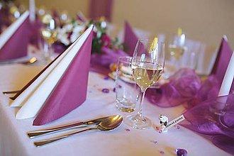 Darčeky pre svadobčanov - Anglický seter - menovky, darčeky pre svadobčanov - 8185716_