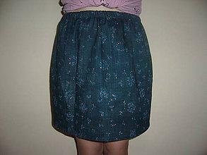 Detské oblečenie - Suknička z dvojitej gázoviny 134-... - 8183709_
