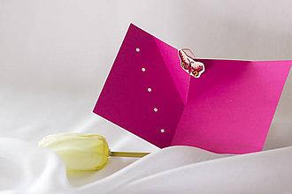 Papiernictvo - Keď vyletí motýľ   V - pozdrav - 8186314_