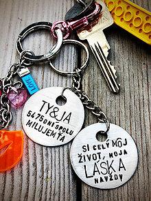 Kľúčenky - Ty & Ja ... si môj celý život ... navždy - 8190064_