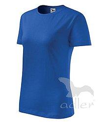 Nezaradené - Dámske tričko ADLER Classic new (133), veľkosť M, kráľovská modrá - 8188142_