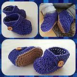 Detské topánky - Papucky - 8187676_