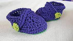 Detské topánky - Papucky - 8188687_