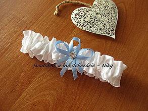 Bielizeň/Plavky - Svadobný podväzok - 8187211_