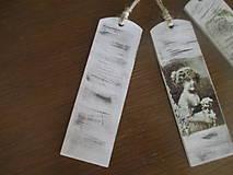 Papiernictvo - Záložka do knihy Vintage - 8187384_