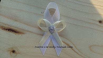 Pierka - Svadobné pierka - biela a maslová - 8187782_