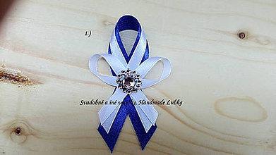 Pierka - Svadobné pierka - námornícka modrá - 8188753_
