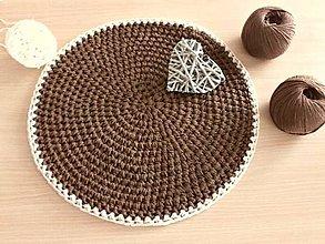 Úžitkový textil - Podsedák Horúca čokoláda - 8187145_