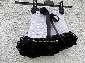 Sukne - volaniková sukničká - 8188905_