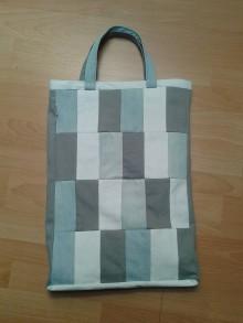 Veľké tašky - Rifľová taška - 8188047_