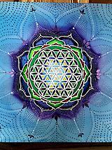 Obrazy - Mandala MÚDROSTI a VNÚTORNEJ SILY pre Michaela - 8187641_