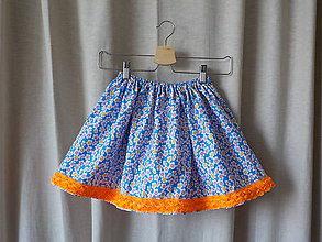 Detské oblečenie - Sukňa simple - Crazy Lulu - 8187797_