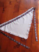 Šatky - Folklórna šatka č.2 - viac farieb - 8190039_