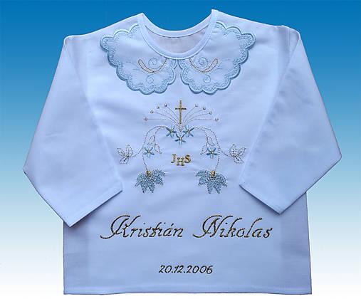 4a02ab26e110 Kosielky na krst pre chlapca   Krst - SAShE.sk - Handmade Textil