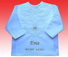 Detské oblečenie - detske kosielky na krst - 8191834_