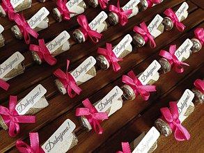 Darčeky pre svadobčanov - SVADOBNÉ CUKRÍKY - mini mentos 2 - 8191268_